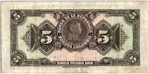 Colombie 5 Pesos Oro, Gal Cordoba - 1940 - TTB - P.386a