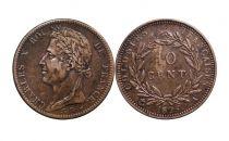 Colonies Françaises 10 Centimes Charles X