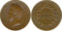 Colonies Françaises 10 Centimes Louis-Philippe I - 1839 A Paris