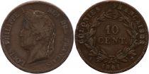 Colonies Françaises 10 Centimes Louis-Philippe I - 1841 A Paris