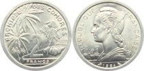 Comores 2 Francs - Marianne - 1964 - SPL