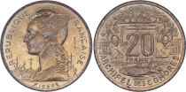Comores 20 Francs - 1964 - Essai - Archipel des Comores