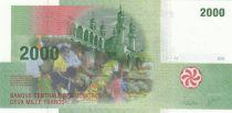 Comores 2000 Francs Mosquée - Huttes - 2005