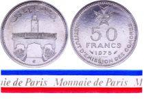 Comores 50 Francs - 1975 - Essai - Institut d\'émission des Comores