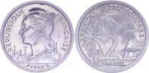 Comoros 2 Francs - 1964 - Test Strike - Comoros Archipelago