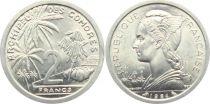 Comoros 2 Francs - Marian - 1964 - AU - KM.5