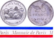 Comoros 25 Francs - 1982 - Test Strike - Central Bank of Comoros