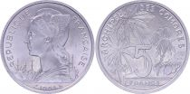 Comoros 5 Francs - 1964 - Test Strike - Comoros Archipelago