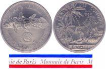Comoros 5 Francs - 1977 - Test strike