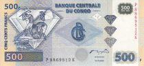 Congo (République Démocratique du) 500 Francs - Mineurs - Diamants - HDM - 2002