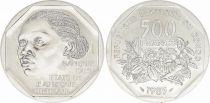 Congo (République Démocratique du) 500 Francs Femme - Plantes - 1985 - Essai