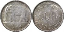Congo Belge 50 Francs Eléphant
