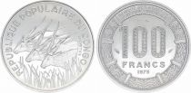 Congo Democratic Republic 100 Francs Elands - 1975 - Essai
