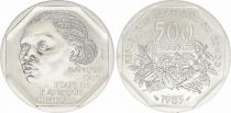 Congo Democratic Republic 500 Francs Woman - Plants - 1985 - Essai