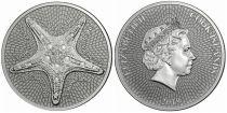 Cook Islands 1 Dollar Starfish - Elizabeth II - 1 Oz Silver 2019
