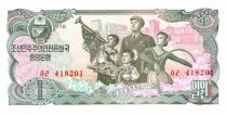 Corea 1 Won Family - Soldiers - 1978