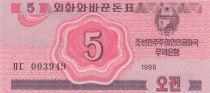 Corea 5 Chon Pink - 1988