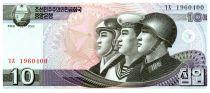 Corea del Norte 10 Won Soldiers - 2002 (2009)