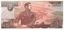 Corée du Nord 10 Won Ouvrier - 1998