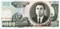 Corée du Nord 1000 Won Kim Il Sung - 2006