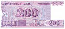 Corée du Nord 200 Won Statue Chollima - 2008