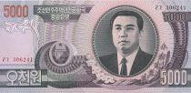 Corée du Nord 5000 won Kim Il Sung