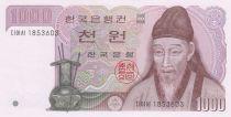 Corée du Sud 1000 Won ND1983 - Yi Hwang