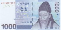 Corée du Sud 1000 Won Yi Hwang - 2007