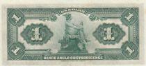 Costa Rica 1 Colon Man - Mercury - 1917