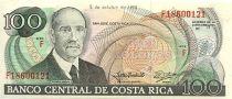 Costa Rica 100 Colones R. Jimenez