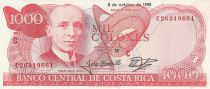 Costa Rica 1000 Colones T. Soley Guell - 1990 - P.259a - UNC