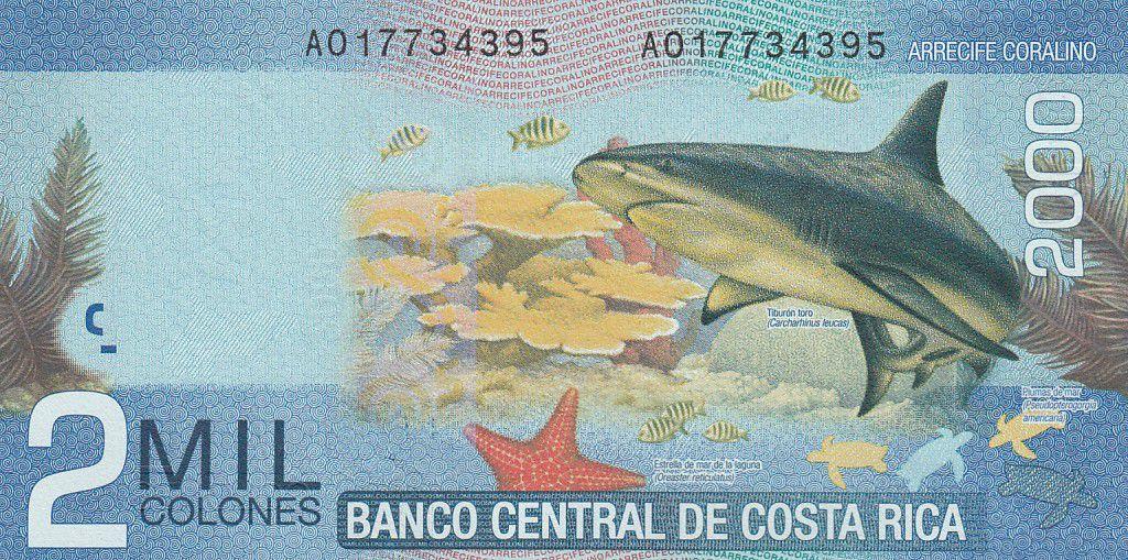 Costa Rica 2000 Colones - Mauro Fernandez Acuna - Animaux - 2009