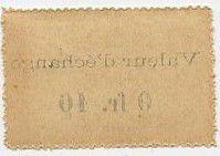 Côte d´Ivoire 0.10 Franc Timbre Monnaie - 1920