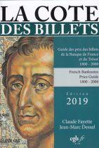 Cote Fayette 2019 Billets BDF et du Trésor