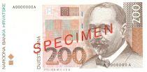 Croacia 200 Kuna Stjepan Radic - Osijek