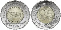 Croatia 25 Kuna, 25 years of Kuna - 2019 - Bi-metal