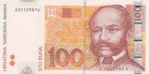 Croatie 100 Kuna Ivan Mazuranic - Eglise St Vitus 2002