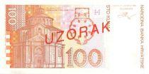 Croatie 100 Kuna Ivan Mazuranic - Rijeka