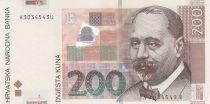 Croatie 200 Kuna S. Radic - Poste de commande d\'Osijek - 2002