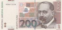 Croatie 200 Kuna S. Radic - Poste de commande d\'Osijek - 2012