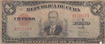 Cuba 1 Peso 1949 Jose Martí