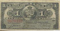 Cuba 1 Peso Armoiries - Reine Marie Cristine
