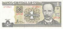Cuba 1 Peso J. Marti - F. Castro 1959 - 2007