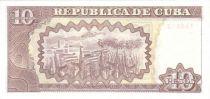Cuba 10 Pesos Maximo Gomez