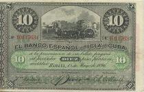 Cuba 10 Pesos Récolte du sucre de canne