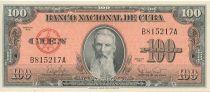 Cuba 100 Pesos F. Aguilera