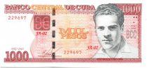 Cuba 1000 Pesos Julio Antonio Mella - Université 2010 (2015)