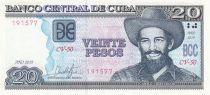 Cuba 20 Pesos - C. Cienfuegos - Agriculture - 2019 - Neuf - P.122