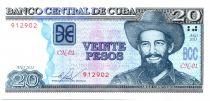 Cuba 20 Pesos C. Cienfuegos - Agricultural