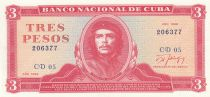 Cuba 3 Pesos 1988 - Che Guevara